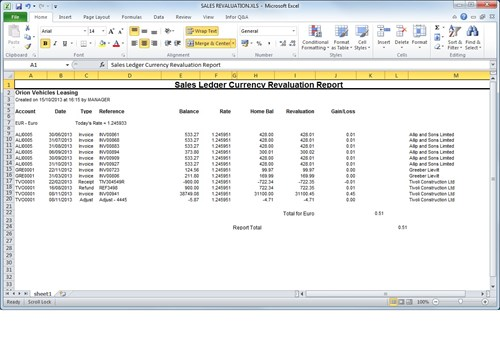 Opera 3 Multi Currency